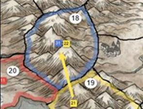 Ulovligt angreb (2 gule hære og 1 grænse)